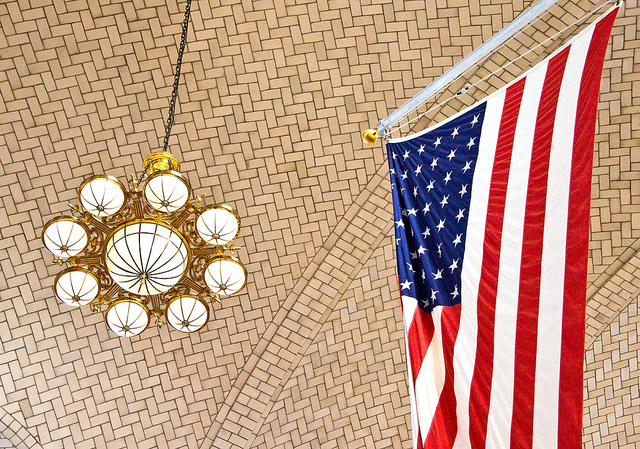 Ceiling of Main Building, Ellis Island